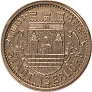 50 Pfennig (Iserlohn) [Stadt, Westfalen] – avers