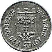 50 Pfennig (Buer in Westfalen) – avers