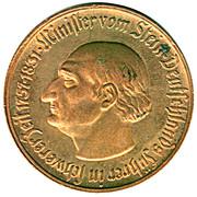 500 Mark (Westfalen; Freiherr vom Stein) – revers