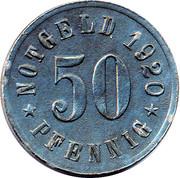 50 Pfennig (Attendorn) [Stadt, Westfalen] – revers
