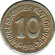 10 Pfennig - Altena Olpe – avers