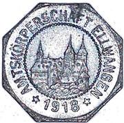 5 Pfennig (Ellwangen) [Private, Württemberg, Amtskörperschaft] – avers
