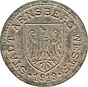 50 Pfennig (Arnsberg) [Stadt, Westfalen] – avers