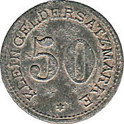 50 Pfennig (Arnsberg) [Stadt, Westfalen] – revers