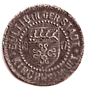 5 Pfennig (Kirchheim unter Teck) [Stadt, Württemberg] – avers