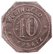 10 Pfennig (Oehringen) [Stadt, Württemberg] – revers