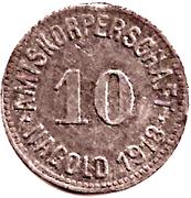 10 Pfennig (Nagold) [Amtskörperschaft] – revers