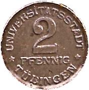 2 Pfennig (Tübingen) [Stadt, Württemberg] – revers
