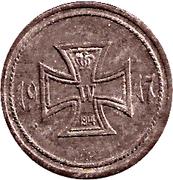 10 Pfennig (Künzelsau) [Bezirk, Württemberg] – revers