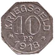 10 Pfennig (Gaildorf) – revers