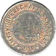 1/2 Mark (Ellwangen) [Bezirkskriegsmünze, Wüttemberg] – avers