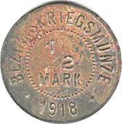 1/2 Mark (Ellwangen) [Bezirkskriegsmünze, Wüttemberg] – revers