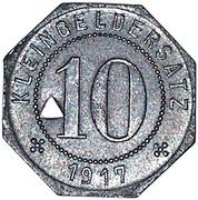 10 Pfennig (Tübingen) [Stadt, Württemberg] – revers