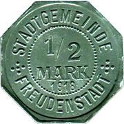 ½ Mark (Freudenstadt) [Stadt, Württemberg] – avers