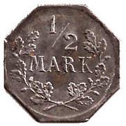 1/2 Mark (Freudenstadt) [Stadt, Württemberg] – revers