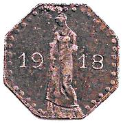50 Pfennig (Heilbronn) [Stadt, Württemberg] – avers