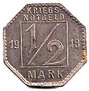 ½ Mark (Hechingen) [Stadt, Hohenzollern] – revers