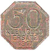 50 Pfennig (herrenberg) [Stadt, Württemberg] – revers