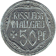 50 Pfennig - Kisslegg – avers