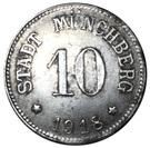 10 Pfennig Münchberg [Stadt, Bayern] – avers