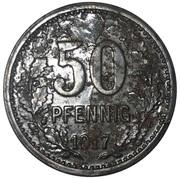 50 Pfennig (Hattingen) [Stadt, Westfalen] – revers