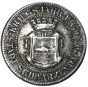 10 Pfennig (Schwarzbach an der Saale) [Stadt, Bayern] – avers