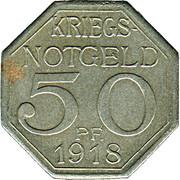 50 Pfennig (Waiblingen) [Private, Württemberg] – revers