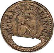 Schwäbisch Gmünd - Cons. Verein - 10 pfennig – avers