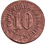 10 Pfennig (Rottweil) [Private, Pulverfabrik] – avers
