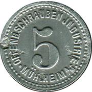 5 Pfennig (Mühlheim am Main) [Private, Hessen, Schrauben Industrie] – avers