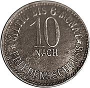 10 pfennig (Pegnitz) – revers