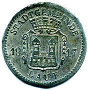 10 Pfennig - LAUF – avers
