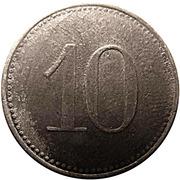 10 pfennig ( Kitzingen) – revers