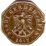 10 pfennig (Germersheim) – avers