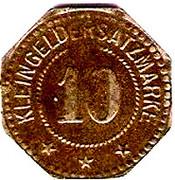 10 pfennig (Germersheim) – revers