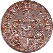 10 Pfennig (Neustadt an der Aisch) [Stadt, Bayern] – avers