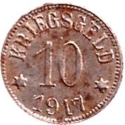 10 Pfennig (Neustadt an der Aisch) [Stadt, Bayern] – revers