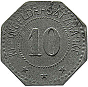 10 Pfennig (Kulmbach) [Stadt, Bayern] – revers