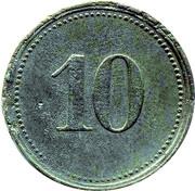 10 Pfennig (Nördlingen) [Stadt, Bayern] – revers