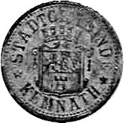 10 Pfennig (Kemnath) [Stadt, Bayern] – avers