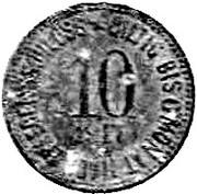 10 Pfennig (Kemnath) [Stadt, Bayern] – revers