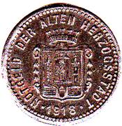 5 pfennig (Burghausen) – revers