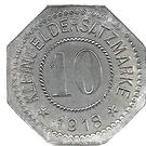 10 Pfennig (Rosenheim) – revers