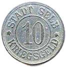 10 pfennig (Selb) – avers