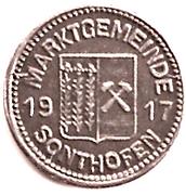 10 Pfennig (Sonthofen) [Marktgemeinde, Bayern] – avers