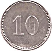 10 Pfennig (Sonthofen) [Marktgemeinde, Bayern] – revers