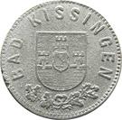 10 Pfennig (Bad Kissingen) [Stadt, Bayern] – avers