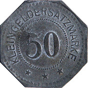50 Pfennig (Kulmbach) [Stadt, Bayern] – revers