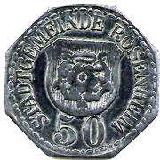 50 pfennig (Rosenheim) – avers