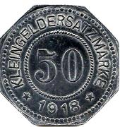 50 pfennig (Rosenheim) – revers